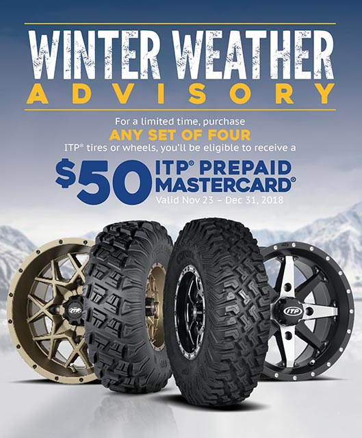 Current Promotions On Itp Tires And Wheels